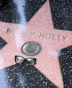 Buddy Holly's star on the walk of fame