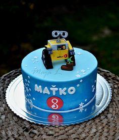 wall-e - Cake by majalaska