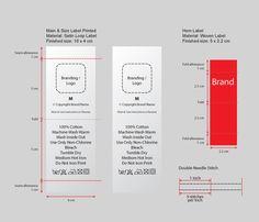 Image result for size labels design