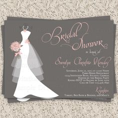 free printable wedding invations | Printable Wedding Shower Invitations Free free for your party. Get ...