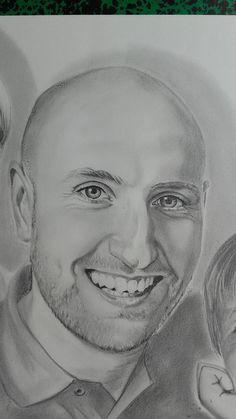 Jérôme. Portrait A3 evolutionniste