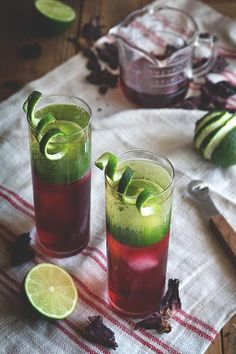 hibiscus rum buck