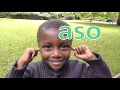 Head, Shoulders, Knees and Toes Song (Akan) Twi - YouTube