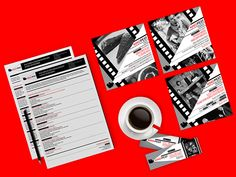 Kino Cafe - brand identity on Behance