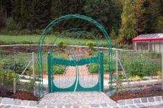 geschmiedetes Tor für Gemüsegarten von ...kunstschmiede.de