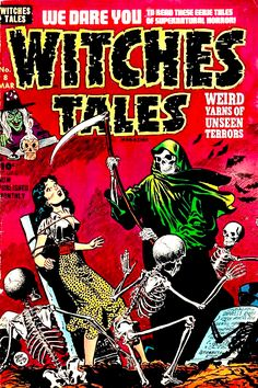 Witches Tales (No.8, 1952) Cover Art by Lee Elias