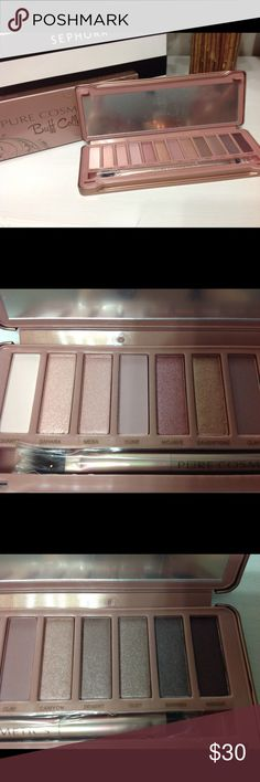 Pure cosmetics eyeshadow palette Brand new product in original packaging... 12 gorgeous colors inspired by the popular smokey eye trend.. great pigment pure Cosmetics Makeup Eyeshadow