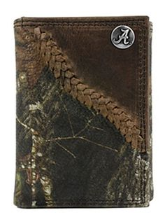 Alabama Crimson Tide Mossy Oak Break Up Camo Leather Trifold Wallet by Enmon Accessories Llc. $38.99. Alabama Crimson Tide Mossy Oak Break Up Camo Leather Trifold Wallet