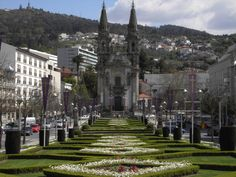 Guimarães, an amazingly beautiful city in the Northern Portugal, is European Capital of Culture this year. Sidewalk, Street View, Vacation, City, Travel, Wanderlust, Cheap Flights, Nice City, Cruises