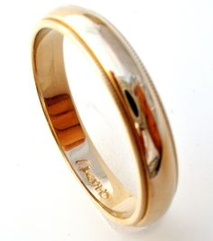 Stackable or Thumb Rings - This is a vintage 14K yellow gold wedding band ring. It is a size 10.75, 4mm wide, hallmarked 14K, weighs 4.5 grams. It is in excellent condition and has been professionally