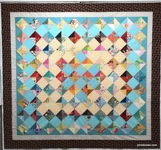 Pink Doxies: QST Scrap Quilt Triangles, Design Your Own, Colorful Backgrounds, Quilt Patterns, Sewing Projects, Scrap, Quilts, Blanket, Creative