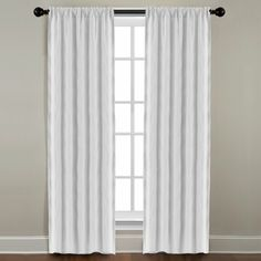 Shop for Grand Luxe Pearl Linen Gotham Rod Pocket Panel. Free Shipping on orders over $45 at Overstock.com - Your Online Home Decor Outlet Store! Get 5% in rewards with Club O!