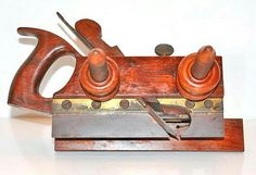 Gorgeous Rosewood version of the DR Barton Plough plane