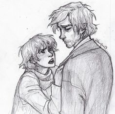 LOOK AT THE PERFECTION THAT IS LUPIN AND TONKS. art by burdge