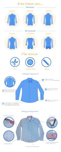Androgyny's Signature Button-Up Shirt - Androgyny