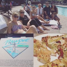 Great day at the pool with some of my faves and then dinner from Pizza Port with Coop! #wesayidoonoctober2 #pizzaportcarlsbad #carlsbadpizza by hayleymouse