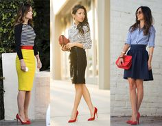 outfit ideas with red heels