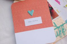 Bits and Pieces...: Mini With Life's Pages Cards