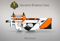Counter-Strike Global Offensive: Operation Breakout Case: P90 Asiimov