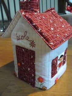 fabric house - cute