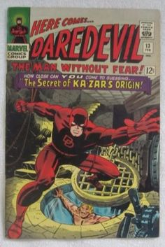 Daredevil #13 (Feb 1966, Marvel) Kirby pencils Ka-Zar app High Grade VF 8.0 Minor spine wear including stress lines. Overall a nice sharp book. VF 8.0 Payment can be made via Paypal. All items are shi