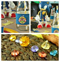 Sonic the Hedgehog Party by Cupcake Wishes & Birthday Dreams  | www.cwbdparties.com