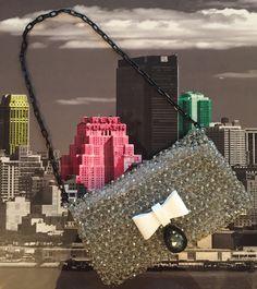 #crochetmania, #plexiglass, #swarovski, #newyork