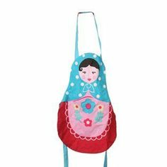 Russian Doll Apron - for Children by RJB