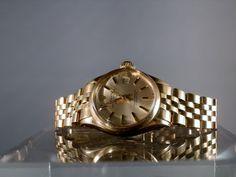 Vintage Rolex Watch 18k Gold Oyster Perpetual by DanPickedMinerals
