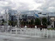 Le Ponant de Paris, seen from the parc André Citroën, Paris