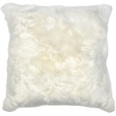 Roberta Ivory Peruvian Alpaca Fur Pillow 20x20 ($215) ❤ liked on Polyvore featuring home, home decor, throw pillows, cream colored throw pillows, off white throw pillows, cream throw pillows, fur throw pillows and beige throw pillows