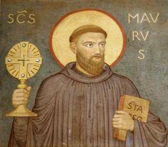 """Deus chamou São Bento para ser o """"grande patriarca do monaquismo ocidental"""". A ordem por ele fundada fez nascer das ruínas do Império Romano a cultura e a civilização européias."""