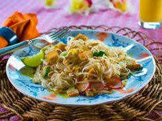 Pad Thai recipe from Trisha Yearwood via Food Network