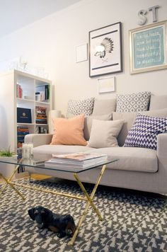 Sarah's Crisp and Clever Small Space in Chicago — House Call | Apartment Therapy