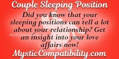 Use this couple sleeping positions calculator in order to find out the direction that your relationship is taking. Sec Positions, Couples Sleeping Positions, Aries Compatibility, Love Calculator, Couple Sleeping, Ways To Sleep, Aries Sign, Did You Know, Knowing You