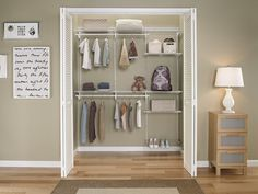 Closet Shelving Systems Reviews Of Best Closet Storage And for Adjustable Closet…