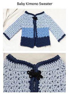 Ravelry: Baby Kimono Sweater pattern by Kristin Stoltzfus
