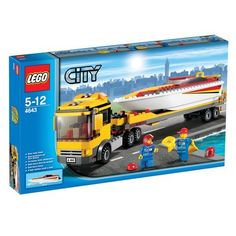 Lego City 4643 - Powerboot Transporter » LegoShop24.de