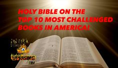 HOLY BIBLE Makes TOP 10 Must BAN Books in America!