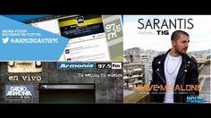 SARANTIS feat. TIG - Leave me alone ( Radio Armonia 97.5 Tu estilo tu mu...
