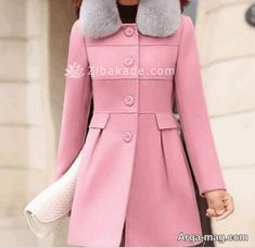 آموزش خیاطی - زیباکده Cold Weather, Coat, Jackets, Fashion, Down Jackets, Moda, Sewing Coat, Fashion Styles, Peacoats