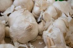 How to dry garlic.
