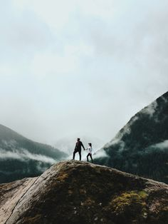 Together on the top of the mountain. Just us..