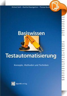 Testautomatisierung ist ein mächtiges Werkzeug, um Tests wiederholbar zu machen und effizienter zu gestalten. Dieses Buch erklärt, wie Testautomatisierung konzipiert wird und in bestehende Projekte und die Organisation eingegliedert wird. Dabei werden sowohl fachliche als auch technische Konzepte vorgestellt. Beispiele aus verschiedenen Einsatzgebieten (z.B. Webapplikationen, Data-Warehouse-Systeme) und Projektarten (z.B. Scrum, V-Modell) erläutern die methodischen Grundlagen. Auch auf…