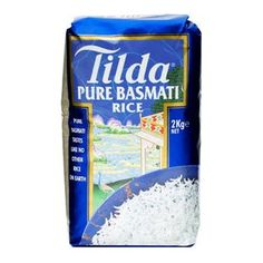 Riz Tilda pure basmati 1kg