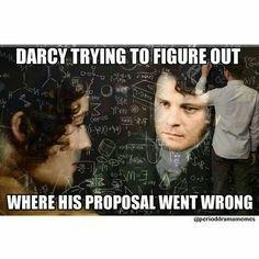 Pride & Prejudice (1995), Mr. Darcy :-D