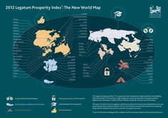The Prosperity Index 2012. An infographic for The Legatum Institute.