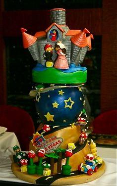 Super Mario Bros cake - Cerca amb Google