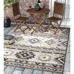 Well Woven Dorado Mamba Modern Southwestern High Low Gray Indoor Outdoor Area Rug Rug Size Rectangle 7 10 X 9 Indoor Outdoor Area Rugs Rugs Southwestern Rug