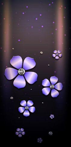 samsung wallpaper purple Black and purple Cute Wallpaper For Phone, Flower Phone Wallpaper, Wallpaper Iphone Disney, Cute Wallpaper Backgrounds, Cellphone Wallpaper, Luxury Wallpaper, New Wallpaper, Mobile Wallpaper, Pattern Wallpaper